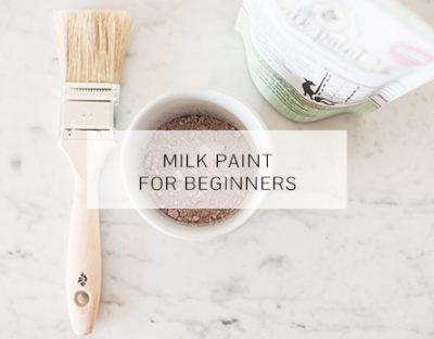 DIY Milk Paint
